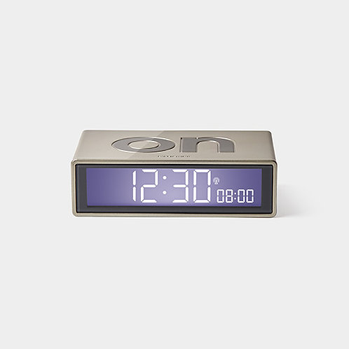 Flip Clock - Light Gold