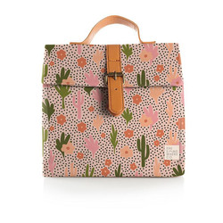 TSC Lunch Satchel Blooming Cacti 1