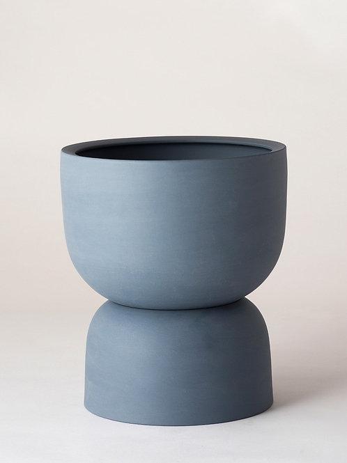 Raw Earth Planter - Slate Blue