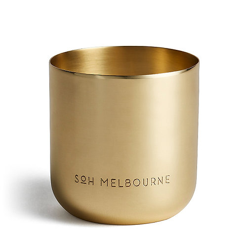 Soh Melbourne Candle -Perle (Brass)