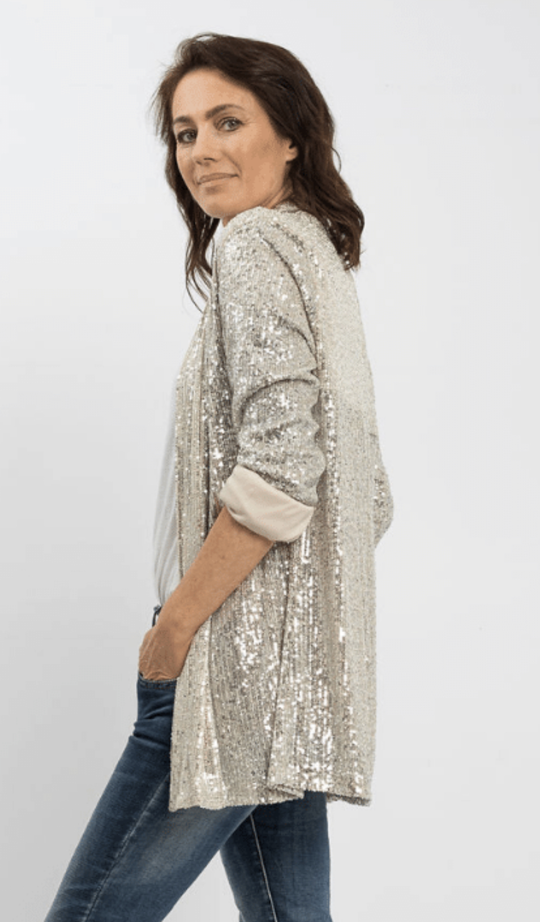 Sequins Silver