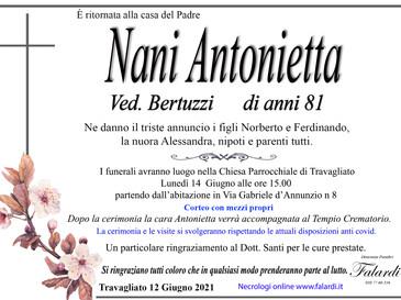 Nani Antonietta Ved. Bertuzzi