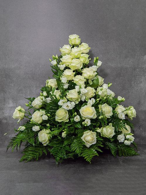 Composizione fiori freschi grande