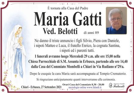 Maria Gatti Ved. Belotti