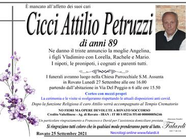 Cicci Attilio Petruzzi