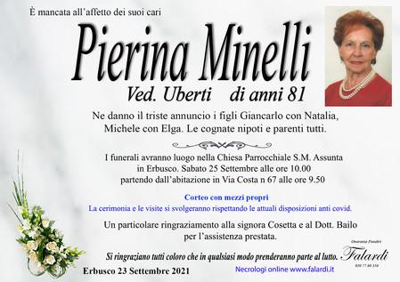 Pierina Minelli ved. Uberti