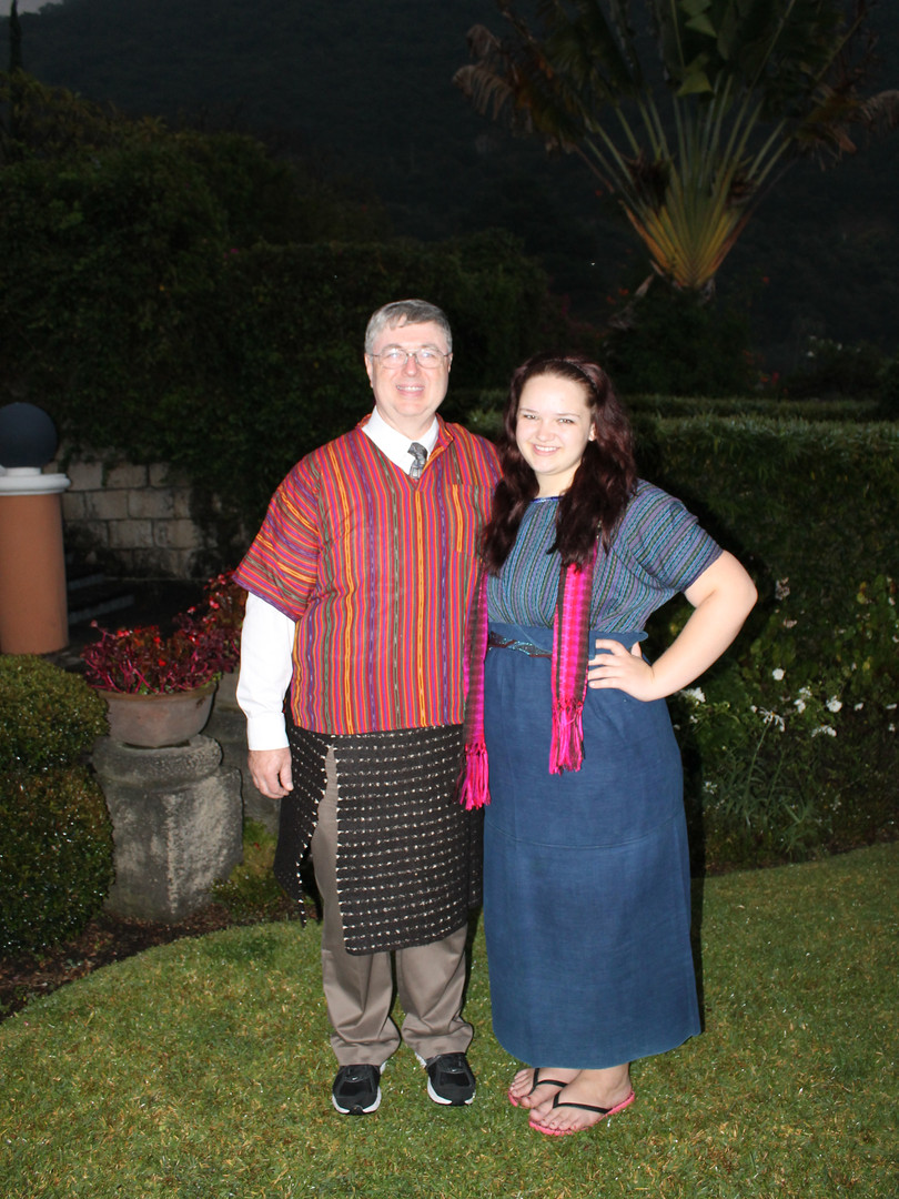 Dr. Dickson and Lindsey in Guatemala