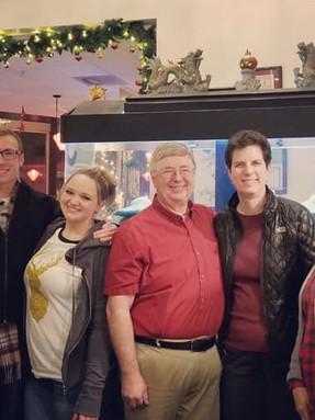 Staff Christmas dinner 2018