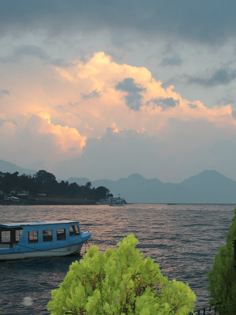 Beautiful Lake Atitlan in Guatemala