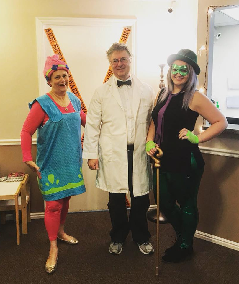 Halloween at Dr. Dickson's 2017