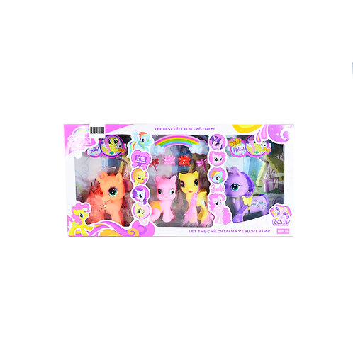 Set Caballito Pony C/Accesorios