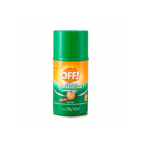 Off Repelente Extra Protección x 165ml