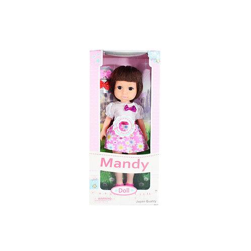 Muñeca Plastica C/Vestido Doll