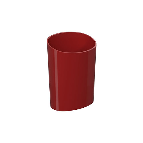 Escurridor de Cubiertos Glass Rojo Bold