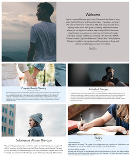 Template Website Edit for Connections Counseling