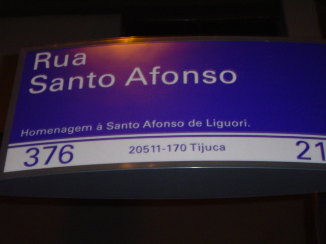 Rua Santo Afonso