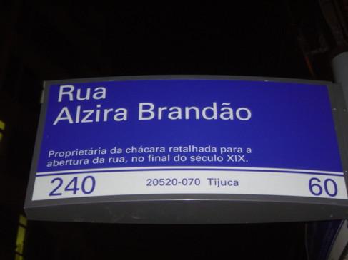 Rua Alzira Brandão