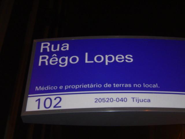 Rua Rêgo Lopes