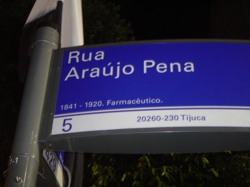 Rua Araújo Pena