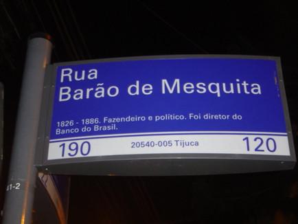 Rua Barão de Mesquita