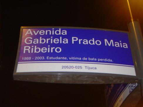Avenida Gabriela Prado Maia Ribeiro