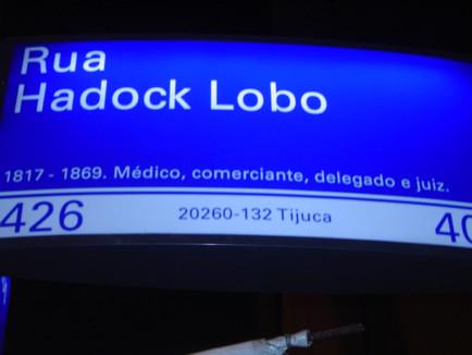 Rua Haddock Lobo