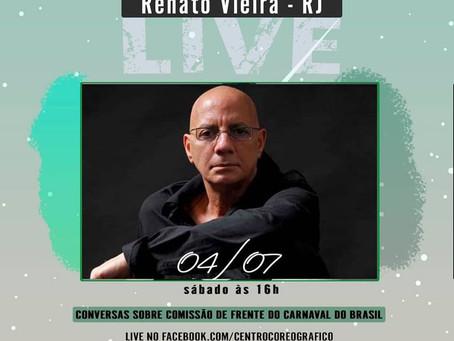 Conversas sobre Comissão de Frente do Carnaval do Brasil - Renato Vieira