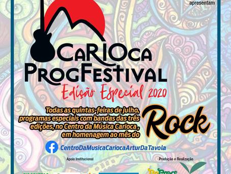Julho a programação do Centro da Música na sua Casa, dará um destaque ao Rock