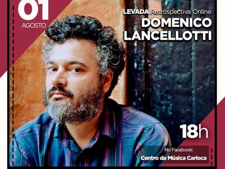 Show do instrumentista, cantor e compositor Domenico Lancellotti