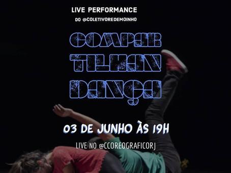 "Centro Coreográfico - A Live Performance ""CompartilhanDança"""