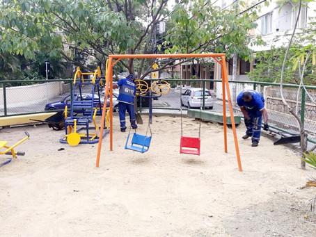 Superintendência da Grande Tijuca realiza revitalização na região da Tijuca