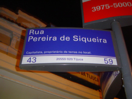Rua Pereira de Siqueira