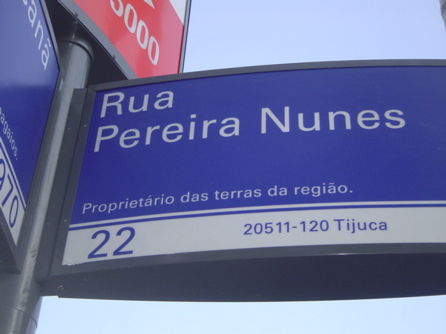 Rua Pereira Nunes