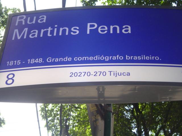 Rua Martins Pena