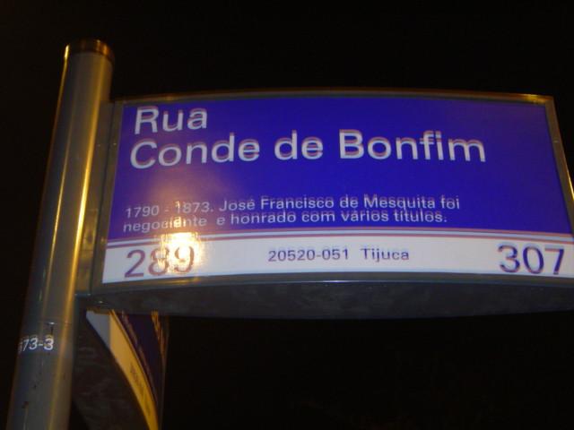 Rua Conde de Bonfim