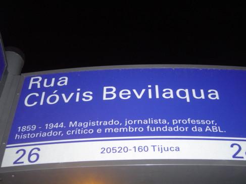 Rua Clóvis Bevilaqua