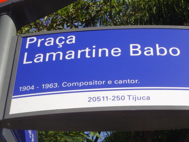 Praça Lamartine Babo