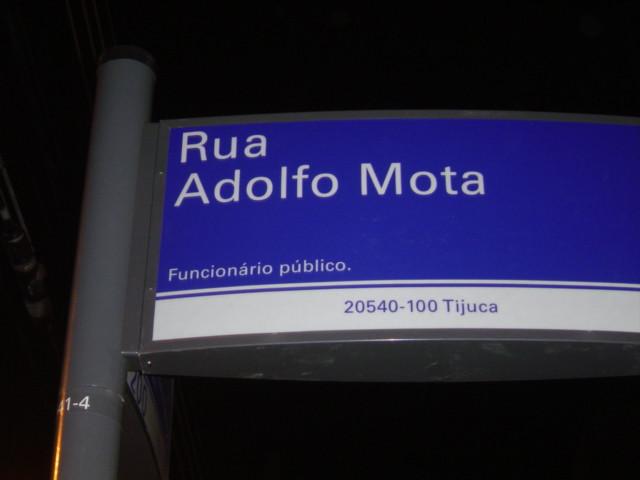 Rua Adolfo Mota