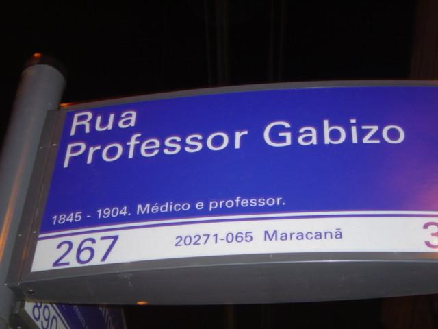 Rua Professor Gabizo