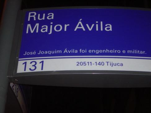 Rua Major Ávila