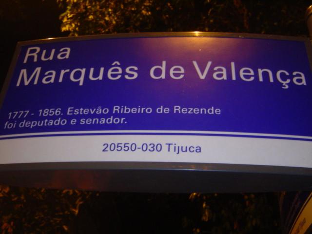 Rua Marquês de Valença