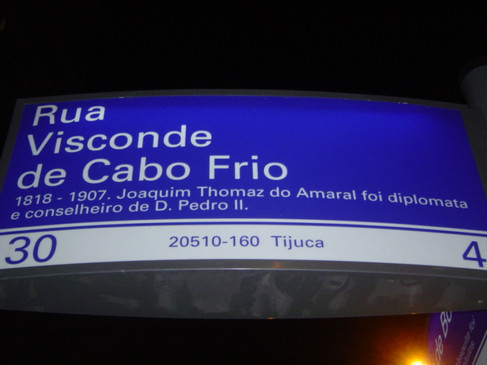 Rua Visconde de Cabo Frio