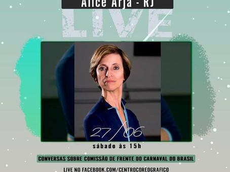 Conversas sobre Comissão de Frente do Carnaval do Brasil - Alice Arja