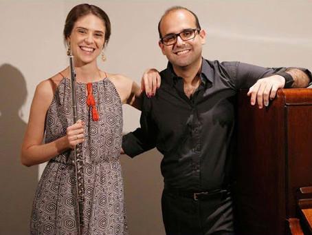 30/07/2020 - Duo Sofia Ceccato & Edilson Leal (flauta e piano)