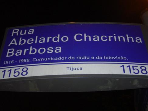 Rua Abelardo Chacrinha Barbosa