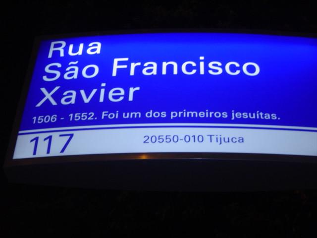Rua São Francisco Xavier