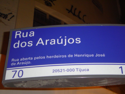 Rua dos Araújos