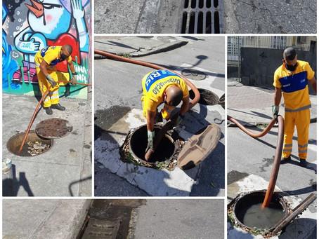 Superintendência da Grande Tijuca realiza manutenção na Tijuca