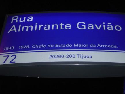 Rua Almirante Gavião