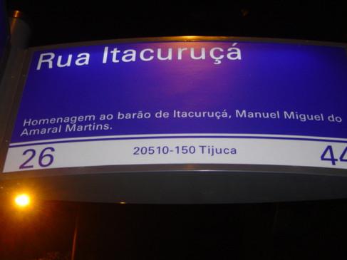 Rua Itacuruçá
